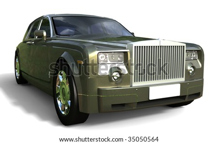 Modern luxury Car - stock photo