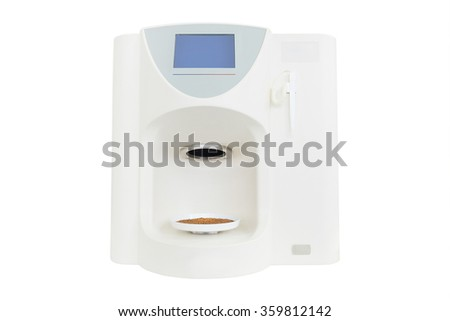 Modern medical laboratory equipment