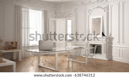 Victorian fireplace stock images royalty free images for Minimalist victorian living room