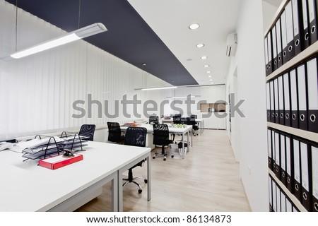 Modern office - stock photo