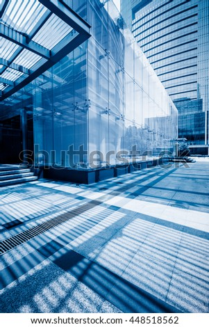 modern office building - stock photo