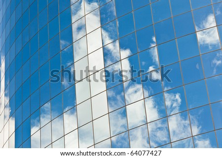 Modern office buildings in New York - stock photo