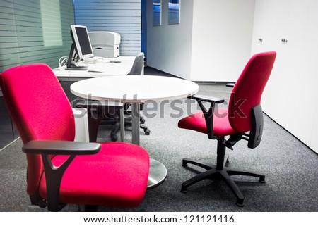 modern office in vienna - austria - stock photo