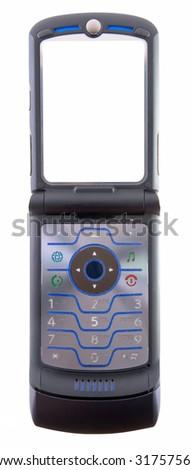 modern phone - stock photo