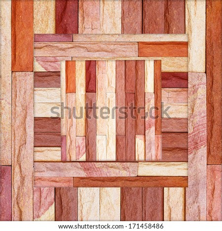 Modern stone brick wall background. Stone texture. - stock photo