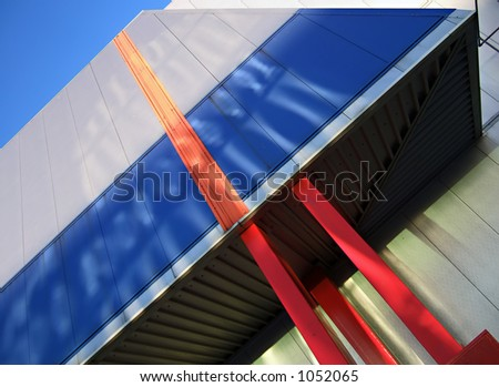 Modern structure abstract