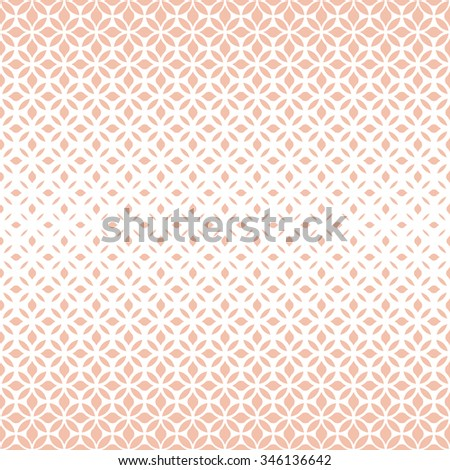 Modern stylish texture with flowers. Seamless pattern. Repeating geometric tiles