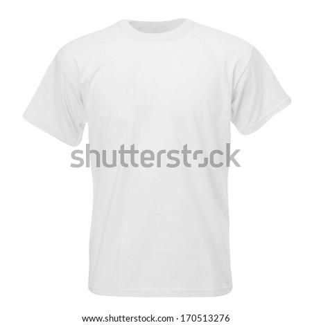 modern t-shirt - stock photo