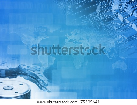 Modern technologies. Science concept - stock photo