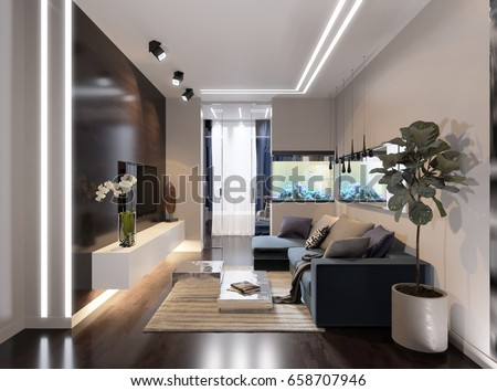 Diode stock images royalty free images vectors shutterstock Contemporary urban living room