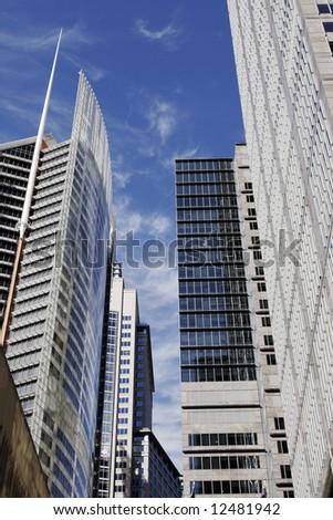 Modern Urban Office Building In Sydney, Glass Facade, Australia - stock photo