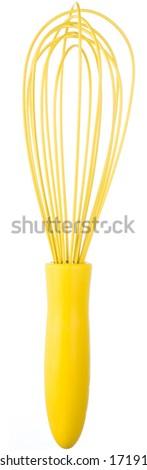 Modern whisk - stock photo