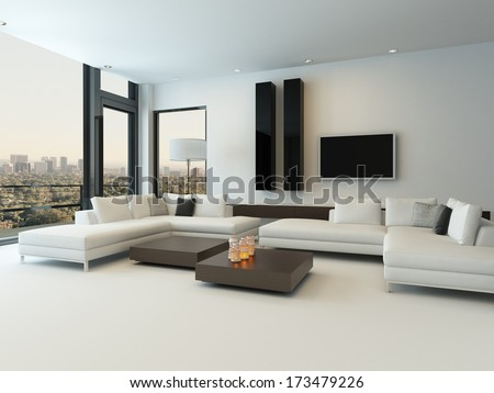 modern white living room furniture. modern white living room with wooden furniture o