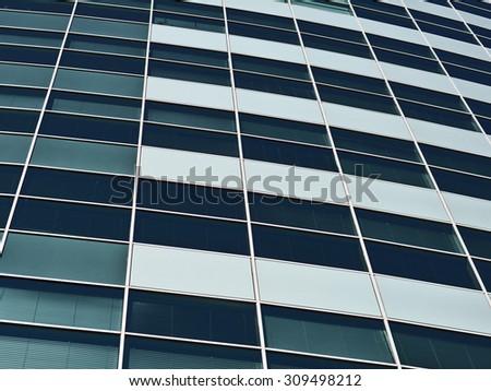 Modern Windows business building - stock photo