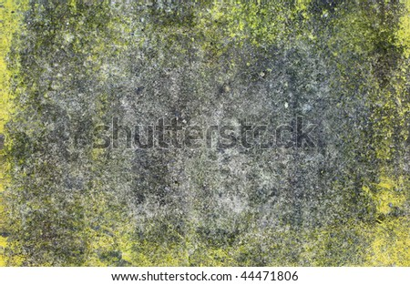 molded grunge concrete wall for multiple uses