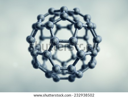 Molecular structure in form of hexagon