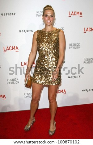 "Molly Sims  at LACMA presents ""The Unmasking,"" LACMA< Los Angeles, CA. 09-25-10"