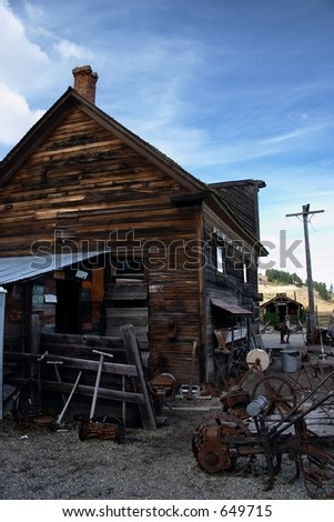 Molson Ghosttown - stock photo