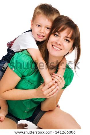 сын воспользовался мамкой