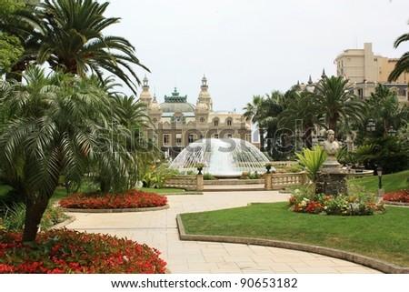 Monaco, Monte Carlo - stock photo