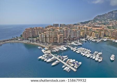 Monaco port - stock photo