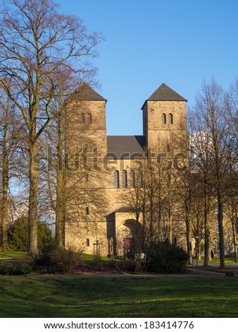 Monastery in the Muenster area, North Rhine-Westphalia, Germany