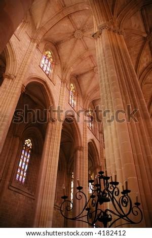 Monastery of Alcobaça - stock photo