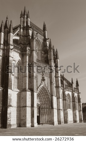 Monastery of Batalha - Batalha city - Portugal