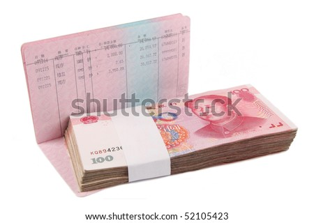 money and passbook