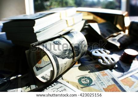 Money Close Up Stock Photo High Quality  - stock photo