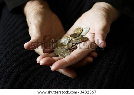 money concept, special toned photo f/x, focus point on money (selective) - stock photo