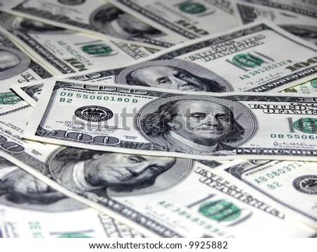 Money - dollars - stock photo