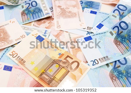 Money . Euro . . - stock photo