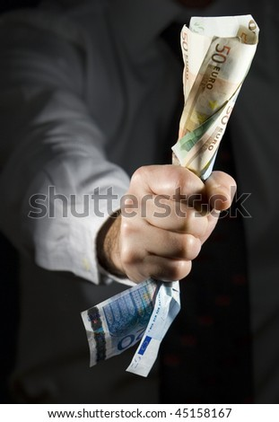 money is power - stock photo