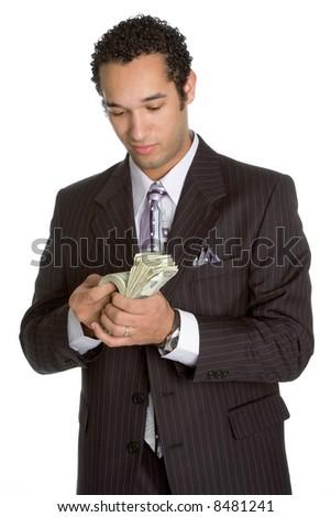 Money Man - stock photo