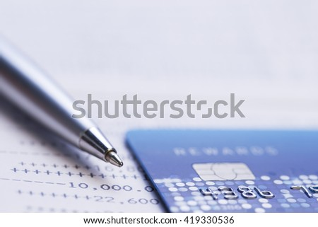 Money management and finance concept - stock photo