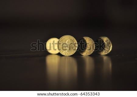 Money of Greece - stock photo