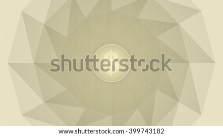 Money sign inside a circle placed on a textured background - stock photo