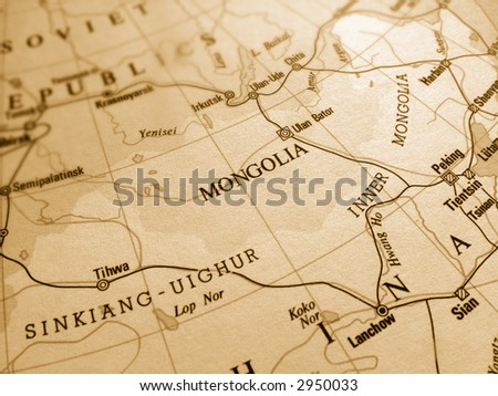 Mongolia - stock photo