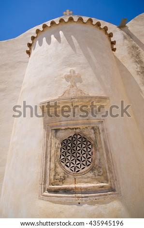 Moni Preveli cloister on Crete island - Greece - stock photo