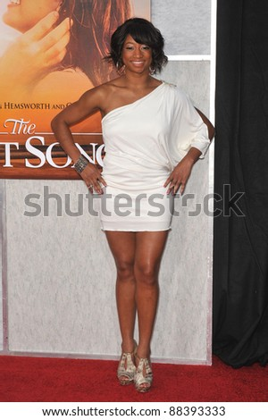 monique coleman at the world premiere of the last song at the arclight theatre