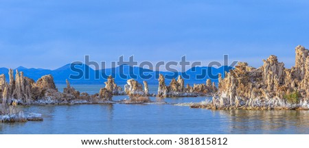 Mono Lake, California, USA - stock photo