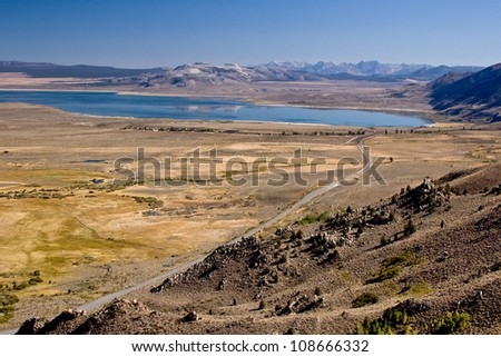 Mono Lake, Nevada - stock photo
