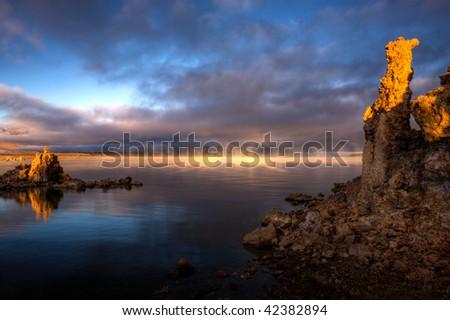 Mono Lake Sunrise 5 - stock photo