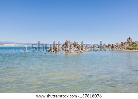 Mono Lake Tufa State Natural Reserve is located near Yosemite National Park within Mono County, in eastern California.