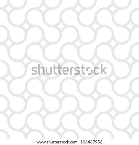 Monochrome simple pattern of gray curved lines