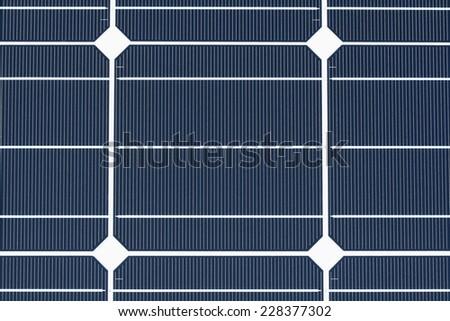 Monocrystalline Solar Cell - stock photo