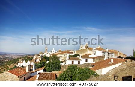 Monsaraz, old village. - stock photo