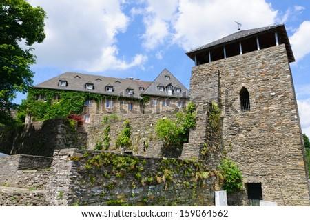 Monschau Castle - stock photo