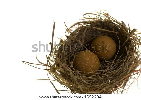 Monster Nest with Eggs